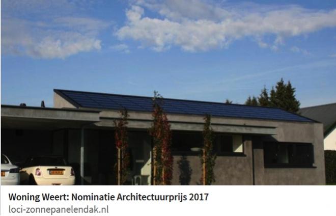 Nominatie Architectuurprijs 2017